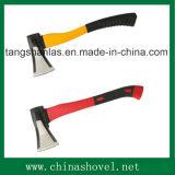 [غود قوليتي] عمليّة قطع أداة يدويّة لأنّ ينقسم خشبيّة [كربون ستيل] فأس مع مقبض