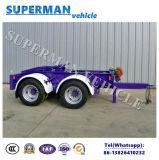 Acoplado del carro de la barra de enganche del cargo de Europen Superlink para las ventas