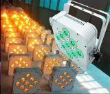 Produttore dell'indicatore luminoso senza fili di PARITÀ della batteria di RGBW 9PCS LED