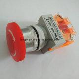 Y090 Interruptor de botão de emergência de plástico