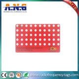 tarjeta inteligente del contacto del dígito binario 2k, read/write del soporte de la tarjeta del modo RFID IC de la ROM