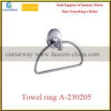 Support sanitaire de tissu d'acier inoxydable d'accessoires de salle de bains d'articles