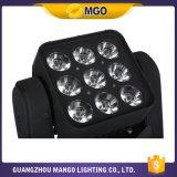 Iluminación LED RGBW 4 de la etapa en 1 luz principal móvil de la matriz