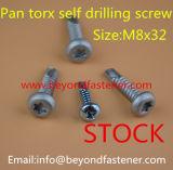 Parafuso de perfuração de aço inoxidável DIN7504p parafuso de janela