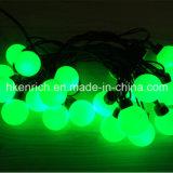 Luz impermeável da corda da esfera do diodo emissor de luz com bulbo de 40mm