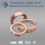 Aws Em12kの銅の上塗を施してある補助的なアーク溶接ワイヤー (SAWW)3.2mm