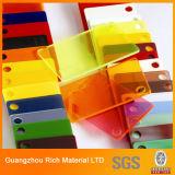 Просвечивающий лист Acrylic перспекса листа цвета PMMA пластичный