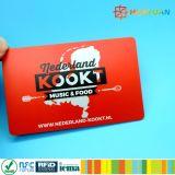 Cartão chave 1K RFID do hotel clássico do controle de acesso MIFARE