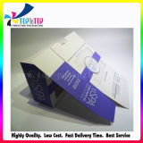 O melhor empacotamento revestido de dobramento de venda do cuidado de pele da caixa