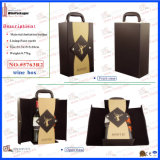Popular New Products Custom Made Faux Leather Wine Box