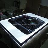 Do frame de cristal da foto do diodo emissor de luz a caixa leve