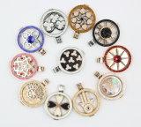 Горячие продавая ювелирные изделия Locket нержавеющей стали способа 316L привесные с вымощают камни