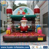 膨脹可能なジャンパー、膨脹可能な警備員を跳ぶ楽しいゲームのメリークリスマスの休日