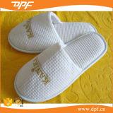 綿のワッフルシリーズホテルのスリッパ(DPFT80134)