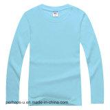 Chemise de coton de chemise de Mens de qualité longue avec le logo fait sur commande