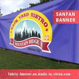 Bandeira ao ar livre feita sob encomenda do vinil do PVC da suspensão de parede da impressão
