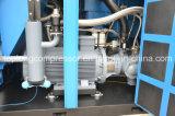 La marca de fábrica superior compara el compresor del tornillo de aire