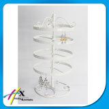 Suporte de giro elegante do indicador da jóia do metal do suporte do indicador da jóia