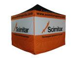 Tienda plegable con la impresión del traspaso térmico del pabellón del poliester