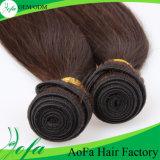 7A普及したUnprocessのまっすぐな人間の毛髪のバージンのペルーの毛