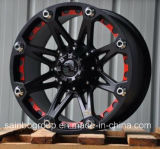 Rodas 4*4; bordas da roda da liga do carro de 17-20inch SUV