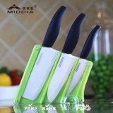 Vaisselle de cuisine pour le jeu en céramique de couteau de cuisine avec le bloc