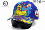 Sombrero de béisbol de la alta calidad 100%Cotton/casquillo de encargo de los cabritos de los deportes para los niños