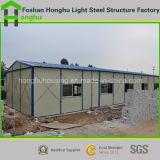 Casa prefabricada del estilo de K con alta calidad