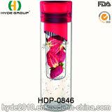 2016 recentemente Tritan BPA liberano la bottiglia di infusione della frutta, la bottiglia di acqua personalizzata di Infuser della frutta (HDP-0846)