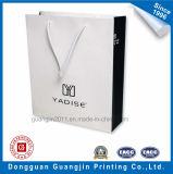 Выполненная на заказ бумажная хозяйственная сумка для упаковывать одежды