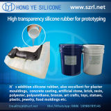 Alto Hardness Silicone Rubber para Rapid Prototyping