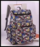 Polyester colorido Backpack para School, Student, Laptoptravel