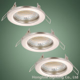 Dispositivo elétrico claro Recessed diodo emissor de luz Downlight de teto do halogênio de MR16 GU10