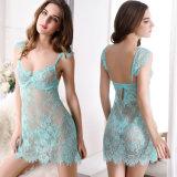 セクシーなランジェリーの卸売の高品質の方法レースストラップのイブニング・ドレス29011