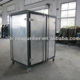 Máquina doble del tratamiento del petróleo del transformador de la basura del vacío de la etapa (ZYD)