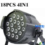 18PCS LED 10W Luz PAR 4en1 Wash (SF-305)