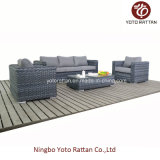 Rattan di vimini Sofa con Three Seater (1506)