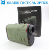 Laser Golf Rangefinder Range Speed Height Angle Measurements da Longo-distância de Erains Tac Optics Handheld W600A Hunting 6X22 600m