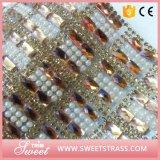 de Sticker van de Schoen van de Parel van het Kristal van 24X40cm