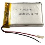 3.7V力バンク(3000mAh)のための再充電可能なリチウムイオン電池