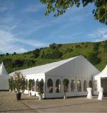 教会Windowsの壁が付いているアルミニウムフレームの結婚式の玄関ひさし党テント