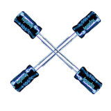 размер Tmce13 электролитического конденсатора 50V 105c горячий алюминиевый миниатюрный