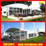 屋外の結婚式のための透過PVCアークの整形ドームのアルミニウムテント