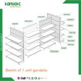 Dispositivos libres del almacén de la guarnición del departamento de la visualización del estante del supermercado del diseño