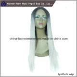 Parrucca sintetica di modo della Cina per la signora