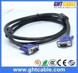 o VGA Cable do Macho-Male 3+4/3+6 de 1.5m Highquality para Monitor/VGA J002_1.5m