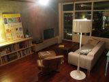 فندق معاصرة [فلوور لمب] يقف مصباح ([ك306ف])