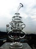 tubulação de água de vidro do Hitman de 47cm, tubulação de água de vidro do Percolator, tubulação de fumo