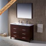 Alta qualità Fed-1273 una ciliegia da 48 pollici che finisce la vanità moderna della stanza da bagno dei doppi dispersori