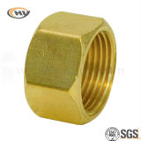 Fitting de cobre amarillo Hex Nut para Fastener (HY-J-C-0312)